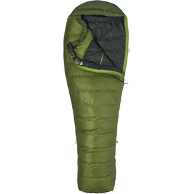 Marmot Never Winter Sleeping Bag long, cilantro/tree green